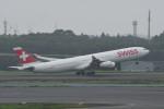 kuro2059さんが、成田国際空港で撮影したスイスインターナショナルエアラインズ A340-313Xの航空フォト(写真)