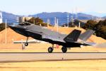 なごやんさんが、名古屋飛行場で撮影した航空自衛隊 F-35A Lightning IIの航空フォト(写真)