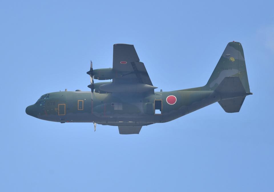 雲霧さんの航空自衛隊 Lockheed C-130 Hercules (75-1078) 航空フォト