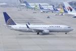 しゃこ隊さんが、関西国際空港で撮影したユナイテッド航空 737-824の航空フォト(写真)