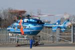 パンダさんが、成田国際空港で撮影した千葉県警察 BK117C-1の航空フォト(写真)