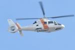 500さんが、自宅上空で撮影した東邦航空 SA365N1 Dauphin 2の航空フォト(写真)