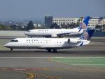 cornicheさんが、サンフランシスコ国際空港で撮影したスカイウエスト CL-600-2B19 Regional Jet CRJ-200ERの航空フォト(飛行機 写真・画像)
