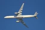 cornicheさんが、ドーハ・ハマド国際空港で撮影したカタール航空 A350-1041の航空フォト(飛行機 写真・画像)