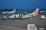 とっちさんが、鹿児島空港で撮影した日本エアコミューター ATR-42-600の航空フォト(写真)