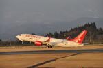 とっちさんが、鹿児島空港で撮影したイースター航空 737-8-MAXの航空フォト(写真)
