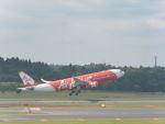 ナナオさんが、成田国際空港で撮影したインドネシア・エアアジア・エックス A330-343Xの航空フォト(写真)