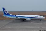れんしさんが、山口宇部空港で撮影した全日空 737-8ALの航空フォト(写真)