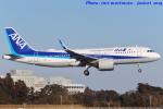 いおりさんが、成田国際空港で撮影した全日空 A320-271Nの航空フォト(写真)