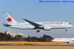 いおりさんが、成田国際空港で撮影したエア・カナダ 787-8 Dreamlinerの航空フォト(写真)