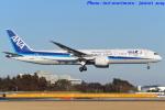 いおりさんが、成田国際空港で撮影した全日空 787-9の航空フォト(写真)