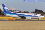いおりさんが、成田国際空港で撮影した全日空 737-781の航空フォト(写真)