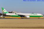 いおりさんが、成田国際空港で撮影したエバー航空 A330-302の航空フォト(写真)