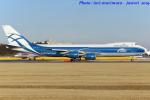 いおりさんが、成田国際空港で撮影したエアブリッジ・カーゴ・エアラインズ 747-8HVFの航空フォト(写真)