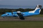 MOR1(新アカウント)さんが、天草飛行場で撮影した天草エアライン DHC-8-103Q Dash 8の航空フォト(写真)