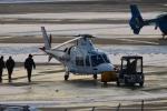 E-75さんが、函館空港で撮影した日本法人所有 AW109SP GrandNewの航空フォト(写真)