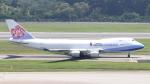 誘喜さんが、シンガポール・チャンギ国際空港で撮影したチャイナエアライン 747-409F/SCDの航空フォト(写真)