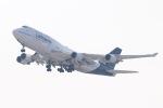 ✈︎SKY LINER✈︎さんが、関西国際空港で撮影したルフトハンザドイツ航空 747-430の航空フォト(写真)