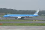 kuro2059さんが、成田国際空港で撮影したKLMオランダ航空 777-306/ERの航空フォト(写真)