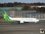 KAZFLYERさんが、成田国際空港で撮影した春秋航空日本 737-81Dの航空フォト(写真)