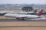 kumagorouさんが、仙台空港で撮影したオムニエアインターナショナル 767-3Q8/ERの航空フォト(飛行機 写真・画像)