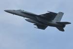 nobu_32さんが、厚木飛行場で撮影したアメリカ海軍 F/A-18E Super Hornetの航空フォト(写真)