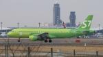 raichanさんが、成田国際空港で撮影したS7航空 A320-214の航空フォト(写真)