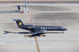 ハム太郎。さんが、羽田空港で撮影したアメリカ企業所有 G500/G550 (G-V)の航空フォト(写真)