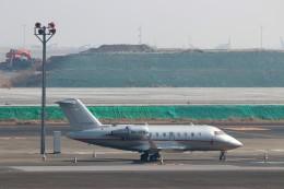 ハム太郎。さんが、羽田空港で撮影したビスタジェット CL-600-2B16 Challenger 605の航空フォト(写真)