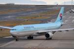 tmkさんが、関西国際空港で撮影した大韓航空 A330-323Xの航空フォト(写真)