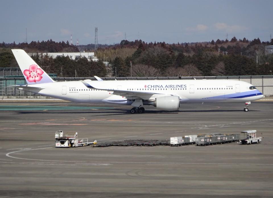 KAZFLYERさんのチャイナエアライン Airbus A350-900 (B-18906) 航空フォト