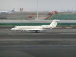 ヒロリンさんが、羽田空港で撮影したユタ銀行 Gulfstream G650 (G-VI)の航空フォト(写真)