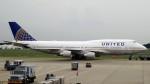 westtowerさんが、成田国際空港で撮影したユナイテッド航空 747-451の航空フォト(写真)