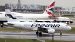 誘喜さんが、ロンドン・ヒースロー空港で撮影したフィンエアー A319-112の航空フォト(写真)