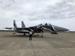 しゃこ隊さんが、小松空港で撮影した航空自衛隊 F-15DJ Eagleの航空フォト(飛行機 写真・画像)