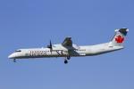 AkilaYさんが、バンクーバー国際空港で撮影したジャズ・エア DHC-8-402Q Dash 8の航空フォト(写真)
