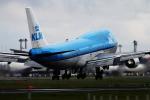 Hide.Oさんが、成田国際空港で撮影したKLMオランダ航空 747-406の航空フォト(飛行機 写真・画像)