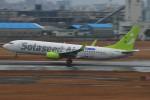 M.Ochiaiさんが、宮崎空港で撮影したソラシド エア 737-86Nの航空フォト(写真)