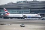 kumagorouさんが、成田国際空港で撮影したブリティッシュ・エアウェイズ 787-9の航空フォト(飛行機 写真・画像)