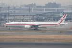 シュウさんが、羽田空港で撮影したガルーダ・インドネシア航空 777-3U3/ERの航空フォト(写真)