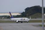 りゅうさんさんが、那覇空港で撮影したスカイマーク 737-8FZの航空フォト(写真)