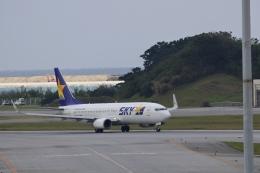 りゅうさんさんが、那覇空港で撮影したスカイマーク 737-8FZの航空フォト(飛行機 写真・画像)