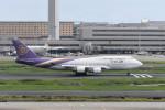 kuro2059さんが、羽田空港で撮影したタイ国際航空 747-4D7の航空フォト(写真)