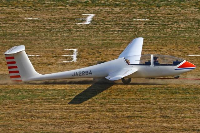 MOR1(新アカウント)さんが、宝珠花滑空場で撮影した日本個人所有 G103 Twin IIの航空フォト(飛行機 写真・画像)