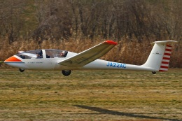 MOR1(新アカウント)さんが、関宿滑空場で撮影したアサヒソアリングクラブ G103A Twin II Acroの航空フォト(飛行機 写真・画像)