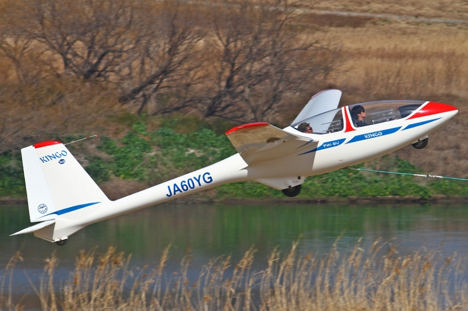 MOR1(新アカウント)さんの学生航空連盟 PZL-Swidnik PW-6 (JA60YG) 航空フォト