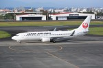 kumagorouさんが、宮崎空港で撮影した日本航空 737-846の航空フォト(写真)