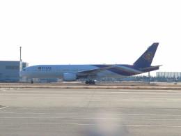た~きゅんさんが、関西国際空港で撮影したタイ国際航空 777-2D7/ERの航空フォト(飛行機 写真・画像)