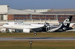 takaRJNSさんが、ハンブルク・フィンケンヴェルダー空港 で撮影したニュージーランド航空 A320-271Nの航空フォト(飛行機 写真・画像)