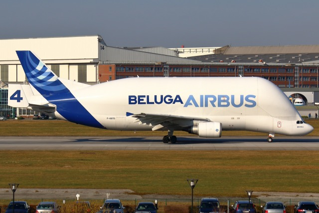 takaRJNSさんが、ハンブルク・フィンケンヴェルダー空港 で撮影したエアバス・トランスポート・インターナショナル A300B4-608STの航空フォト(飛行機 写真・画像)